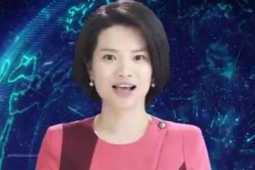 চীনের নতুন চমক, খবর পড়লো নারী রোবট 2