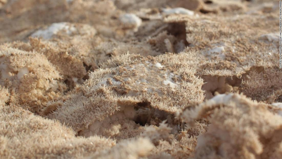 আরব আমিরাতে লবণের সিমেন্ট